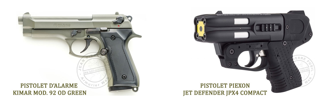 arme de defense jean pierre fusil